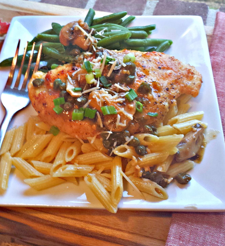 Sundaysupper chicken piccata flavor mosaic chicken piccata forumfinder Image collections