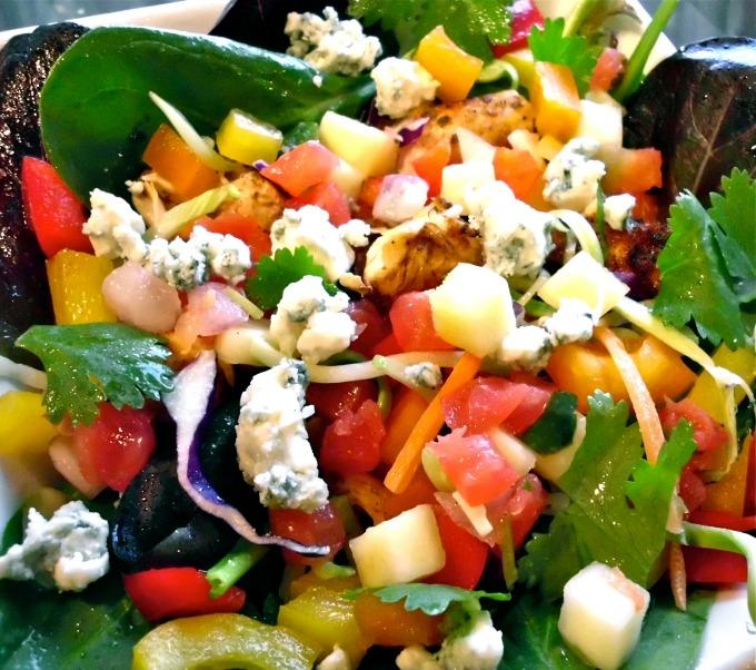 Chicken-Mango-Salsa-Salad