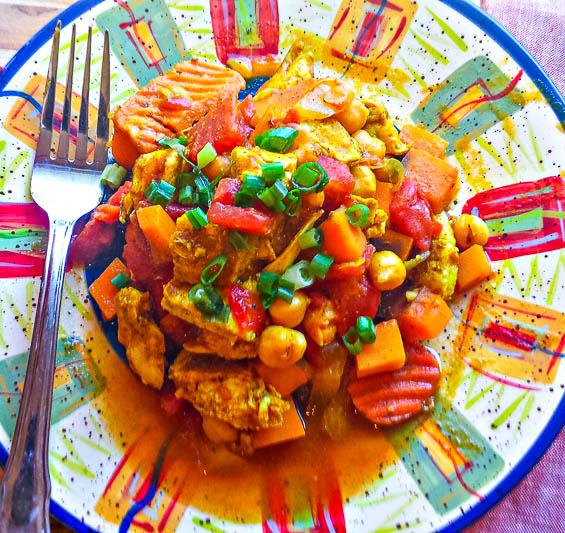Slow Cooker Chicken Marakesh